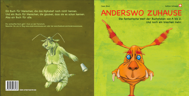 "Mein Kinderbuch ""Anderswo zuhause"""